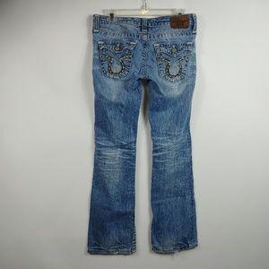 Big Star Womens Liv Jeans Sz 28 R Bootcut 31x31